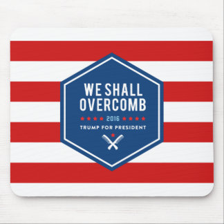 We Shall Overcomb Mouse Pad