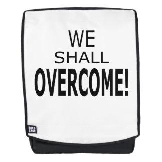 We Shall Overcome Back Pack Backpack