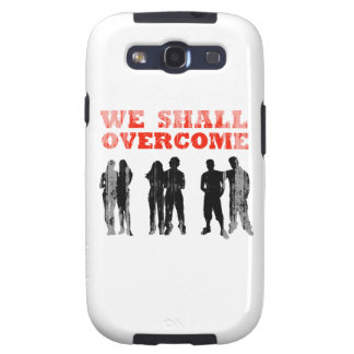 We Shall overcome Faded png Galaxy S3 Covers