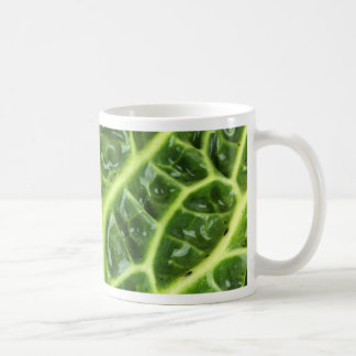 We singing Kohl Savoy cabbage berza chou vert Coffee Mug