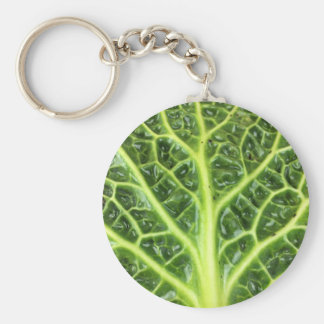 We singing Kohl Savoy cabbage berza chou vert Keychain