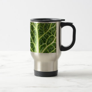 We singing Kohl Savoy cabbage berza chou vert Travel Mug