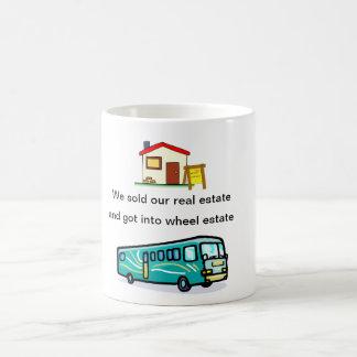 """""""we sold our real estate....""""mug coffee mug"""