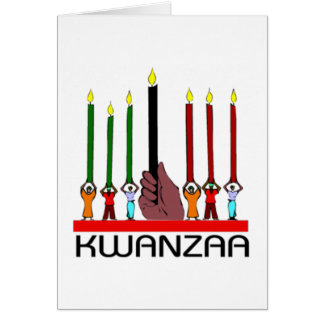 We Stand Tall Kwanzaa Holiday Notecards Card