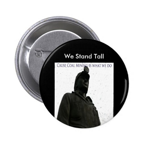 We Stand Tall Pin