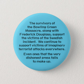 We stand with them pinback button