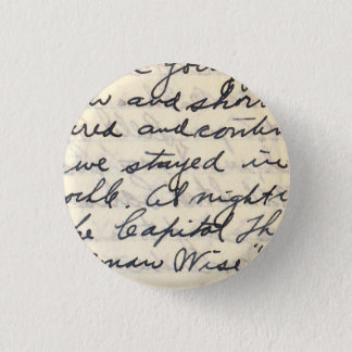 We Stayed In, Elegant Letter Handwritten with Love Button