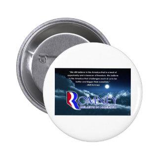 """We Still Believe..."" - Romney 2012 Pinback Button"