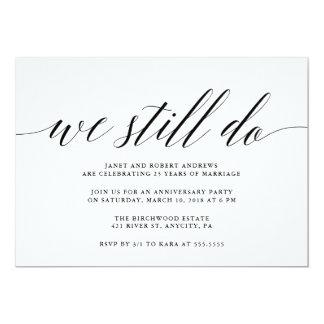 We Still Do Anniversary Invitation