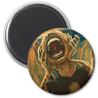 We Still Scream Our TAke 2 Inch Round Magnet