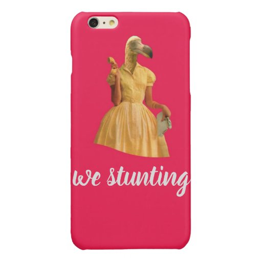 We Stunting Glossy iPhone 6 Plus Case