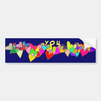 We Support You Bumper Sticker
