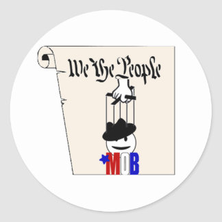 We the Mob Constitution Sticker