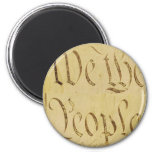 We The People 2 Inch Round Magnet