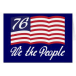 We The People '76 Card