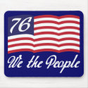 We The People '76 Mousepads