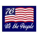 We The People '76 Post Card