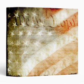 """We the People American Flag 1.5"""" Photo Album Vinyl Binders"""