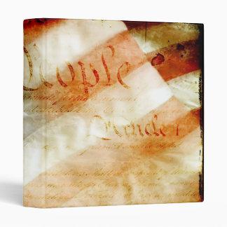 """We the People American Flag 1"""" Photo Album 3 Ring Binders"""
