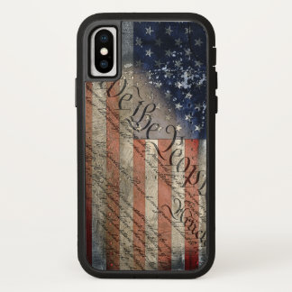 We The People American Flag iPhone X Tough Xtreme iPhone X Case