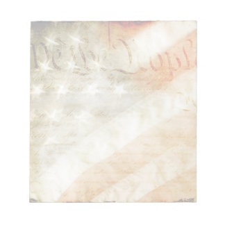 We the People American Flag Memo Note Pads