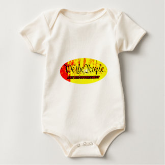 We The People Are The Government The MUSEUM Zazzle Baby Bodysuit