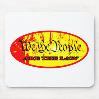 We The People ARE THE LAW red The MUSEUM Zazzle Gi Mouse Pad
