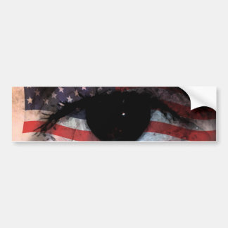 WE THE PEOPLE ARE WATCHING YOU! BUMPER STICKER