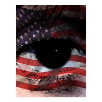 WE THE PEOPLE ARE WATCHING YOU! POSTCARD