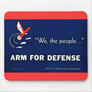 We the People Arm for Defense Mousepad