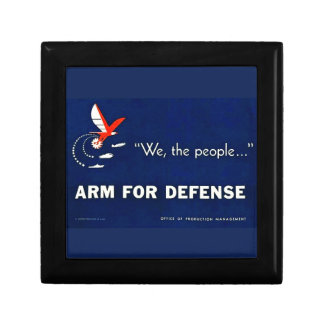 We the People Arm for Defense Vintage World War II Gift Boxes