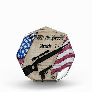 ( We The People ) Article 1 2nd Amendment Guns and Awards