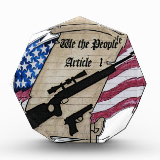 ( We The People ) Article 1 2nd Amendment Guns and Award