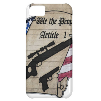 ( We The People ) Article 1 2nd Amendment Guns and iPhone 5C Case