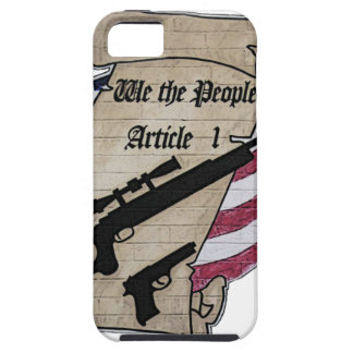 ( We The People ) Article 1 2nd Amendment Guns and iPhone SE/5/5s Case