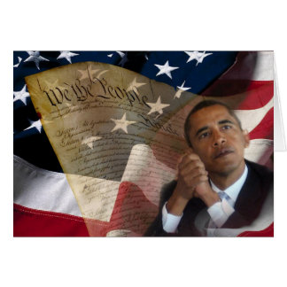 We the People...Barack Obama & the Constitution Card