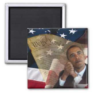 We the People...Barack Obama & the Constitution Magnet