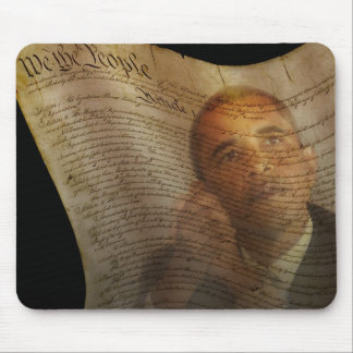 We the People...Barack Obama & the Constitution Mouse Pad
