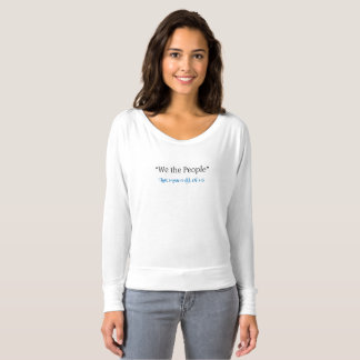 We the People Bella Long Sleeve Tee