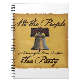 We the People BER Tea Party Notebook Cool!