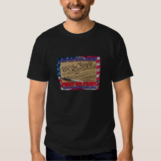 We The People - Black T T Shirt