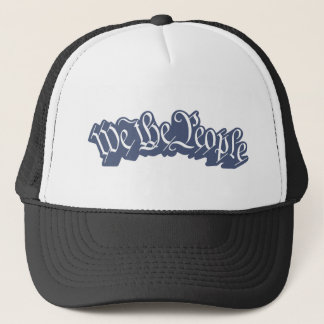 We The People (Blue) Trucker Hat