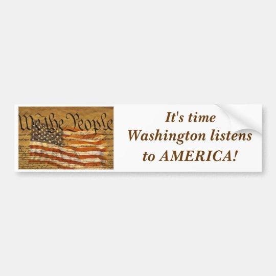 We the People Bumper Sticker II