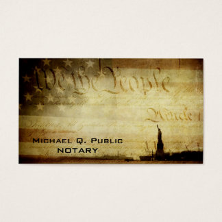 We the People Business Cards