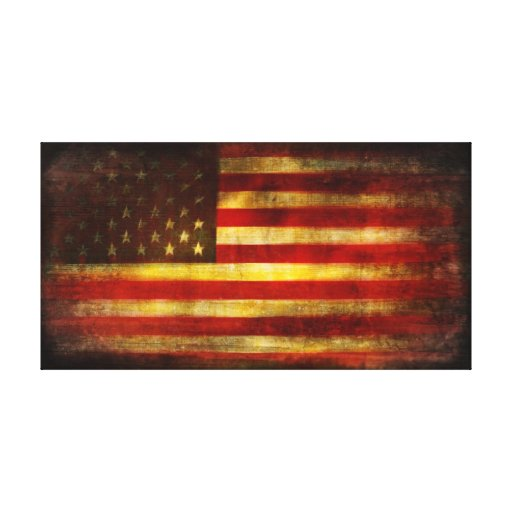 We The People by Brett Pfister Canvas Print