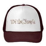 We The People - cap Hats