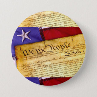 We the People Constitution of the United States Button