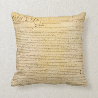 We The People Constitution Pillow