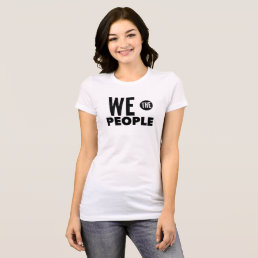 """We the People..."" Constitution Shirt"