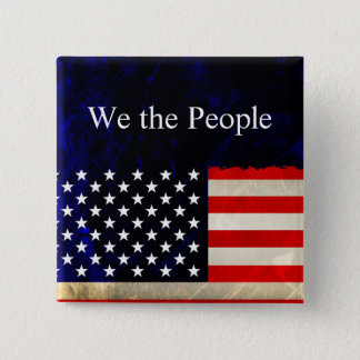 We the People Design 2 Pinback Button